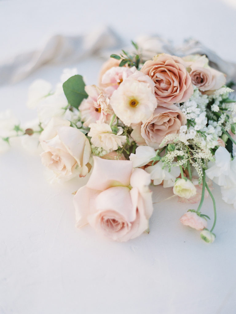 Colorado Romantic Spring Elopement beautiful bouquet created by flora by nora