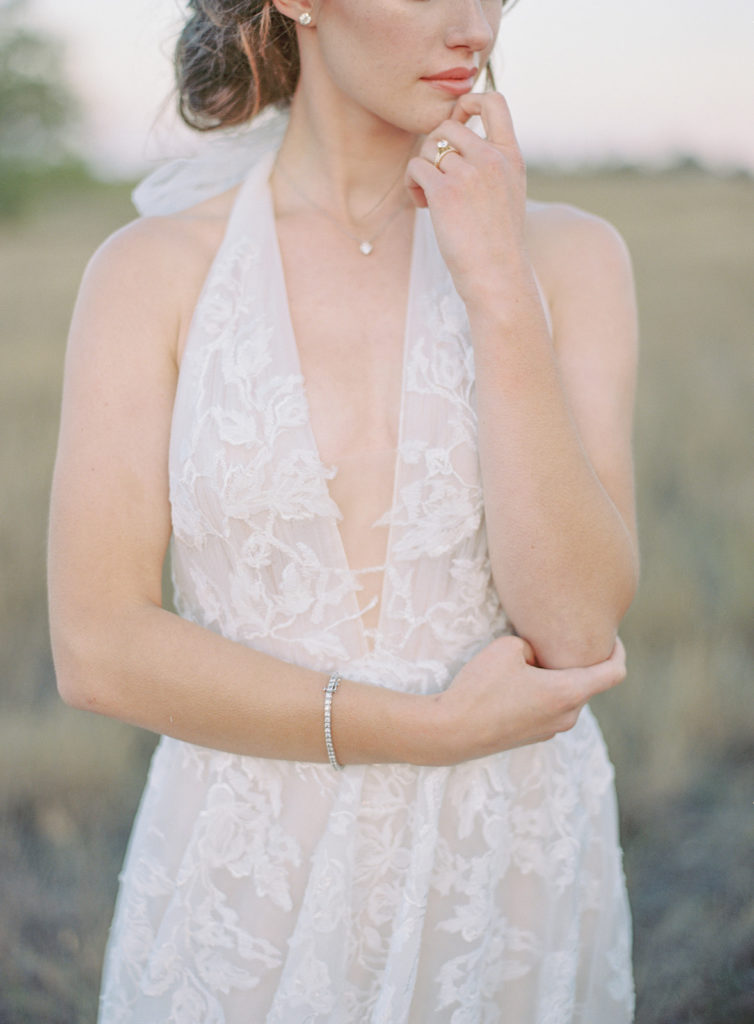 Bride details captured by Decorus Photography during a Romantic Al Fresco Wedding Inspiration at Stonewall Farm
